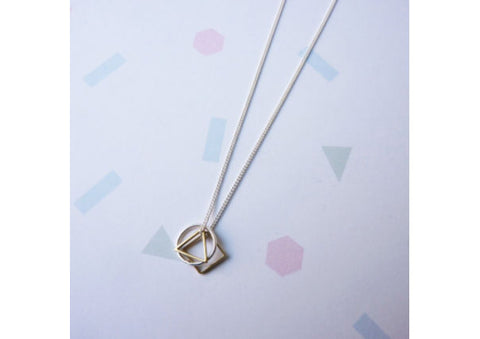 Mini Symmetry Necklace by Custom Made