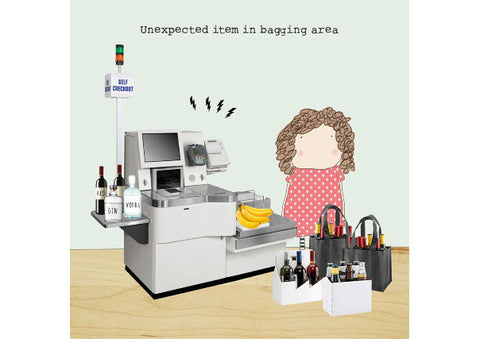 Unexpected Item - Birthday Card