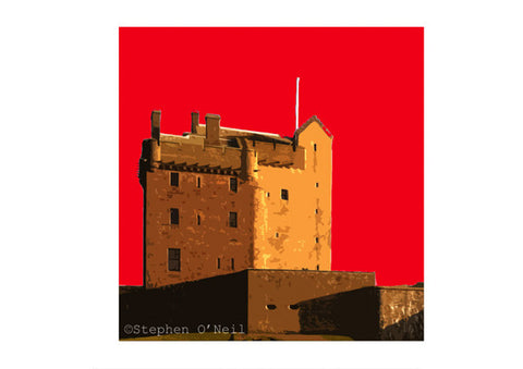 Broughty Ferry Castle Print by Stephen O'Neil