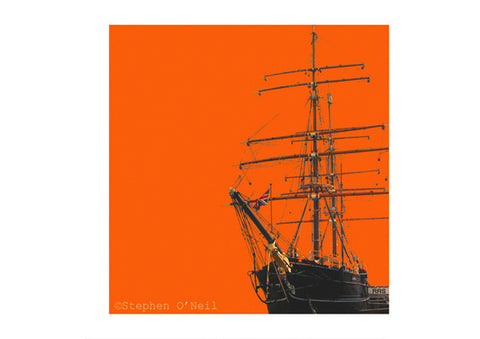 RSS Discovery Print by Stephen O'Neil