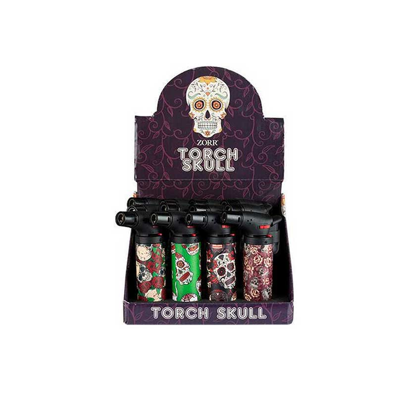 Zorr Torch Skull 1pz - IMEX Shop