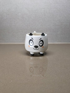 "Determined Panda Flower Plant Pot - 3"" - Great Succulent Pot"