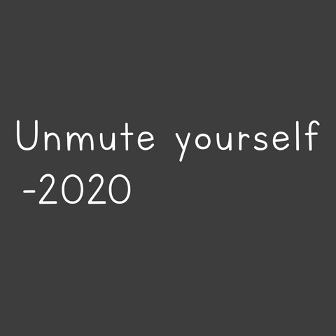 Unmute yourself. -2020 (Men's)