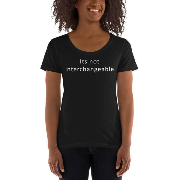 Its not interchangeable (Women's)