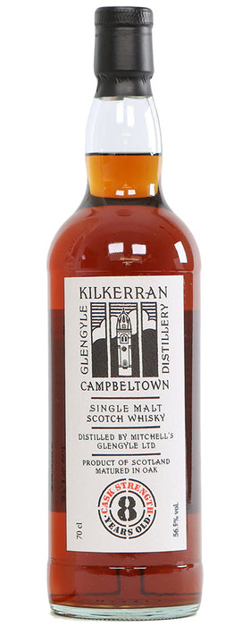Kilkerran 8 Year Old / Cask Strength Sherry Matured / 56.9% / 70cl