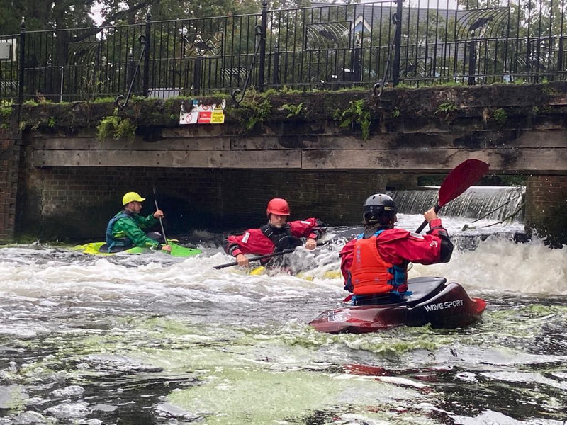 Braintree Canoeing Club at Colchester Weir (3rd October 2020)