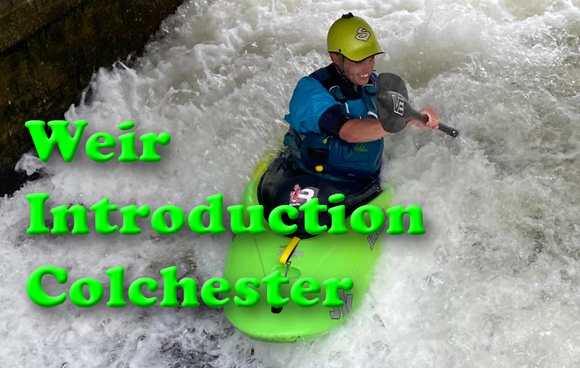 Introduction to Colchester Weir Saturday 3rd October 9am till 10.30am
