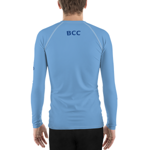 BCC Men's Rash Vest Light Blue