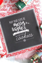 Load image into Gallery viewer, Christmas Cookie Box Printable Set