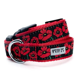 Poppies Collar & Lead Collection