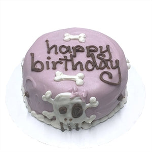 Pink Skull Cake (Personalized)