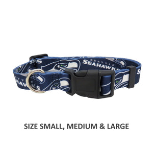 Seattle Seahawks Pet Nylon Collar