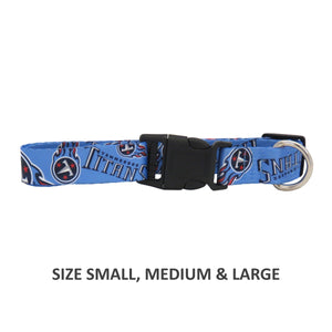 Tennessee Titans Pet Nylon Collar