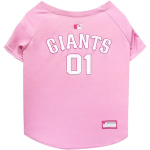 San Francisco Giants Pink Pet Jersey