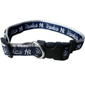 New York Yankees Pet Collar By Pets First