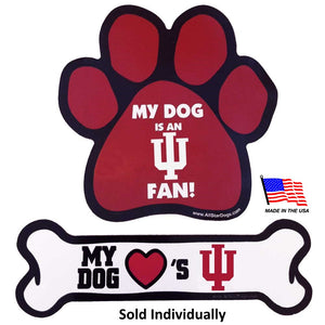 Indiana Hoosiers Car Magnets