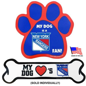 New York Rangers Car Magnets