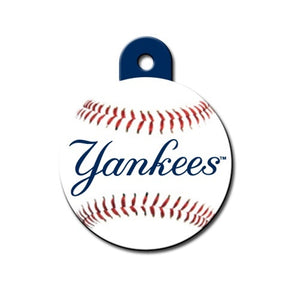New York Yankees Circle Id Tag