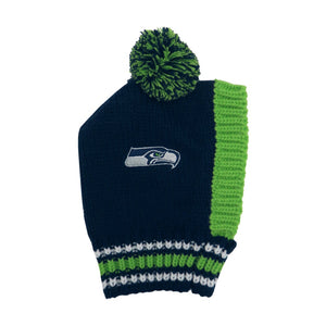 Seattle Seahawks Pet Knit Hat