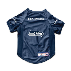 Seattle Seahawks Pet Stretch Jersey