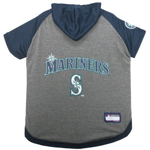 Seattle Mariners Pet Hoodie T