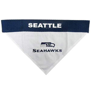 Seattle Seahawks Pet Reversible Bandana