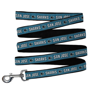 San Jose Sharks Pet Leash By Pets First