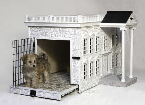 Custom Luxurious Designer Dog House- The Presidential Palace Style Mansion