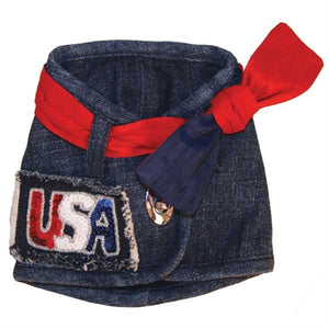 Hollywood Harness Vest with USA Patch