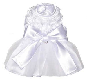 The Bianca Rose Ribbon Dog Dress