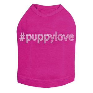 #puppylove - Silver Nailhead Dog Tank - Many Colors
