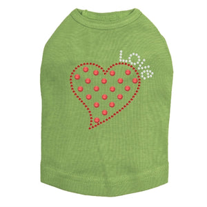 Small Love Polka Dot Heart Tank - Many Colors