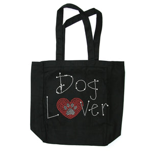 Dog Lover Canvas Tote Bag in Many Colors