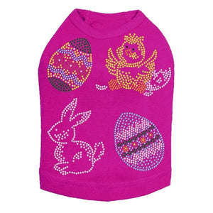 Easter Assortment (4) Dog Tank- Many Colors