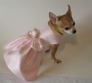 Beautiful in Pastel Pink Dog Dress
