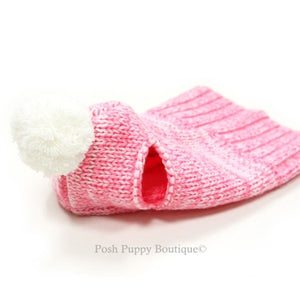 Sweater Hat- Pink