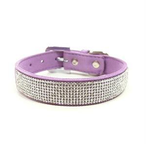 VIP Bling Collar in Purple