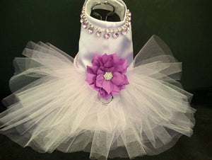 Purple Countessa Dog Tutu