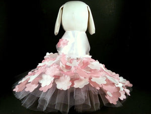 Pink Flowers Harness Dress