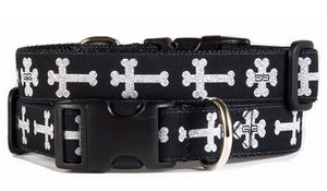 Church Black Dog Collar