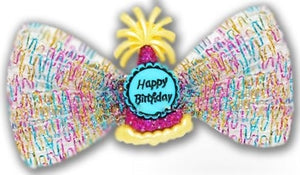 Birthday Wishes Hair Bow