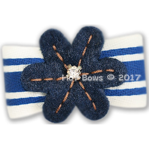 Color Me Navy Hair Bow