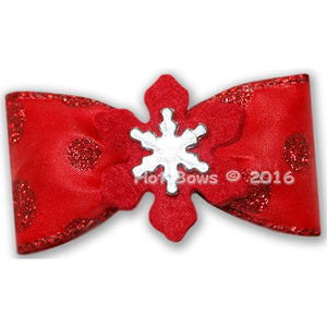 Enchanted Winter Hair Bow