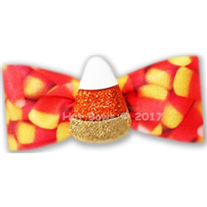 Glitter Corn Hair Bow