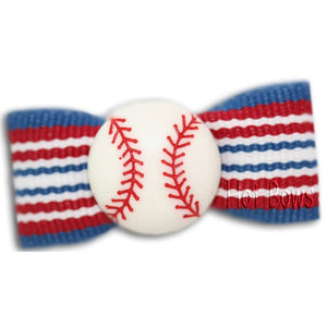 Play Ball Hair Bow