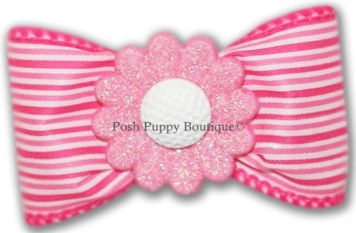 Rose Garden Hair Bow