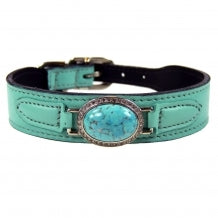Estate in Turquoise Dog Collar