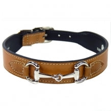 BELMONT Style Dog Collar in Buckskin