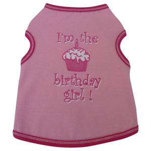 I'm The Birthday Girl Tank - Pink
