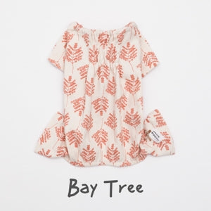 Louis Dog Everyday Romper in Bay Tree